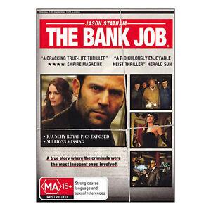 The Bank Job  DVD  Brand New Aus Region 4 - Jason Statham - Free Post