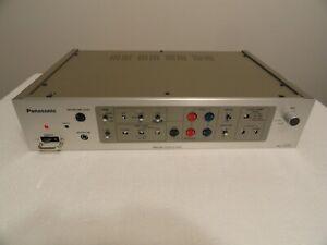 Panasonic Remote Control Unit WV-RC36 CC Tv Camera Control for WV-F300 WV-F200