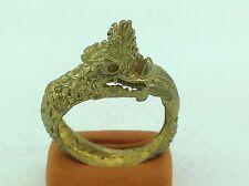Ring Naga Love Charm Protection Powerful Buddhist Thai Dragon rare Amulet Good