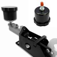Black CNC Racing Drift Hydraulic Hand Brake Oil Tank Fluid Reservoir E-Brake