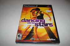 Dancing with the Stars Sony Playstation 2 PS2 Video Game New Sealed