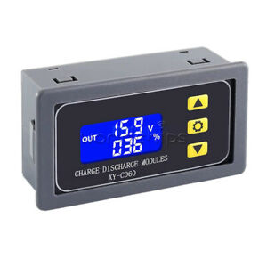 CD60 LCD Battery Charger Controller DC6-60V Charge Discharge Protection Module