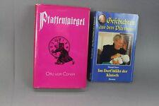 Pfaffenspiegel + Geschichten aus dem Pfarrhaus - 2 Bücher von 1978 + 1994  /S146