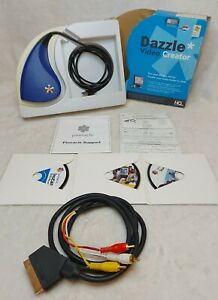 DAZZLE Video Creator DVD Recorder PC USB Streaming Video VHS Audio Capture