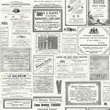 Vintage International Newspaper Wallpaper PA5657