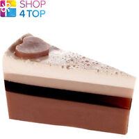 CHOCOLATE HEAVEN SOAP CAKE SLICE BOMB COSMETICS YLANG YLANG HANDMADE NEW