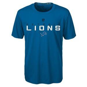 """Detroit Lions Outerstuff NFL Boys Blue """"Maximal"""" Dri-Tek T-Shirt"""