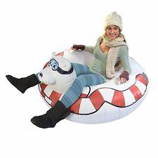 GoFloats Winter Snow Tube -  Polar Bear - Ultimate Sled & Toboggan