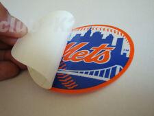 Baseball NY New York Mets Full Color Inside Window Decal Sticker NEW !!