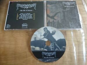 PROCESSION The cult of disease 1press 2009 Candlemass Solitude Aeturnus Solstice