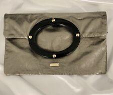 Kate Spade Gold Metallic-Bronze Clutch Handbag