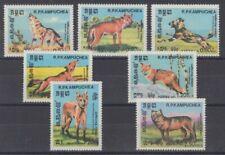 Kampuchea 577 - 83 Wolf fuchs Cane (MNH)