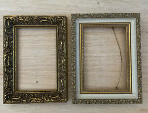 Two Small Ornate Gilt??  Painting Frames