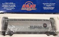 Atlas Big O ~ WABASH ACF 6 Bay Cylindrical Hopper ~ #6339-2 (3 Rail) NEW IN BOX
