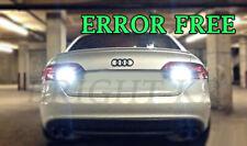 AUDI A4 B8 2012+ BRIGHT XENON COOL WHITE REVERSE SMD LED LIGHT BULBS UPGRADE