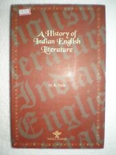 A HISTORY OF INDIAN ENGLISH LITERATURE RARE BOOK INDIA 2005