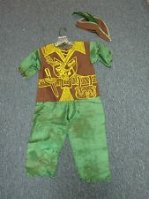 VINTAGE CHILDS ROBIN HOOD HALLOWEEN COSTUME ~ SIZE 3/4