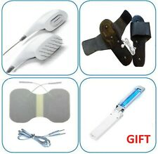 3 SET/ Electrodes for Denas PCM 6 : Massage, Slippers, Pin Pads -butterfly +GIFT