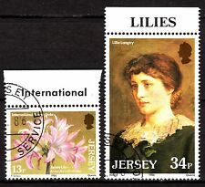 Jersey - 1986 Lilies - Mi. 372-73 VFU
