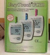 EasyTouch GCHb Glucose Cholesterol Hemoglobin Multi Function Monitoring System