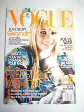 Magazine mode fashion VOGUE UK october 2003 Gwyneth Paltrow