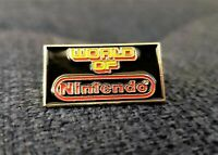 World of Nintendo Enamel Metal Lapel Pin (Promo Memorabilia Sign Collectible)