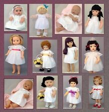 White Lace Dress for BRIDES, ANGELS, 1ST COMMUNION - Fit CPK & MANY Dolls