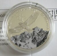 Mongolia 500 Togrog 2013 Wildlife Golden Eagle Silver