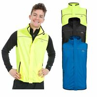 Trespass Torridon Mens Hi Vis Reflective Running Gilet Active Sport Hiking Vest