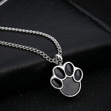 2018 Pet Dogs Paw Urn Cremation Pendant Necklace Ash Holder Keepsake Jewelry