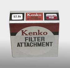 Kenco 52.0s 52mm Filter Attachment V-Color Image RB New