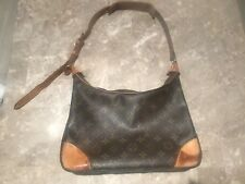 AUTHENTIC LOUIS VUITTON BOULOGNE 30 SHOULDER BAG PURSE MONOGRAM