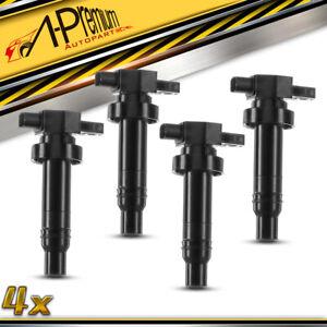 A-Premium 4x Ignition Coil Pack for Hyundai Accent RB i20 i30 Kia Soul Rio 1.6L