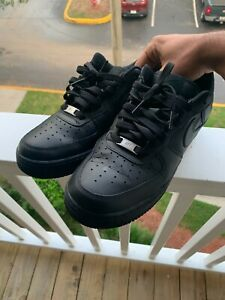 Nike Air Force 1 Low 07 Men's Basketball Shoes Black (315122-001)