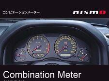 JDM OEM NISMO COMBINATION METER CLUSTER SKYLINE R34 GT-R BNR34 NEW JAPAN F/S