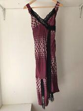 Poleci Womens Strappy Lace Midi Dress, US Size 6 / AU 10