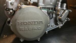 Honda CR 500 Titanium Clutch Inspection cover bolts 1990 - 2001 motor