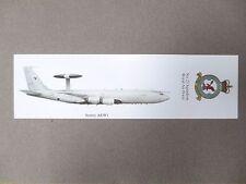 BOOKMARK SENTRY AEW1 No 23 Squadron Royal Air Force RAF Aircraft WADDINGTON