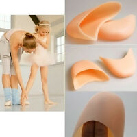Ballet Dance Pointe Shoes Protection Gel Silicone Toe Pads- A Pair