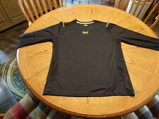 Everlast sport long sleeve Spf dry wicking shirt size large