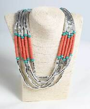Women Silver Necklace African Jewellery