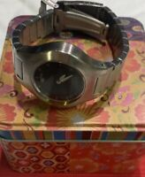 Fossil Watch Silver Band Blue Face Womens
