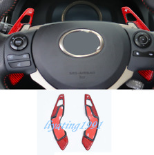 Carbon Fiber Steering Wheel Paddle Shifter Extension For Lexus RC200T/300 15-19
