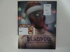 Deadpool (Blu-ray/DVD, 2016, 2-Disc, Digital HD) NEW w/xmas slipcover
