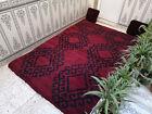 Moroccan Handmade Vintage Berber Rug Azilal Tribal Wool Carpet Beni Ourain Rug