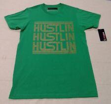 Mens TONY HAWK *Hustlin* Short Sleeve T-Shirt Tee Size Small Green MSRP $22 EUC