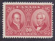 Canada 148 MNH OG 1927 20c Baldwin & La Fontaine Issue Very Fine Scv $50.00