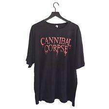 Cannibal Corpse - Vintage 00s Logo Tour T-Shirt
