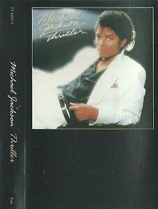 Michael Jackson Thriller CASSETTE ALBUM Remastered, Special Edition 2001 US