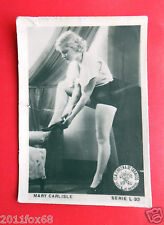 figurines actors akteur figurine cigarettes cards cia tabacos L 32 mary carlisle